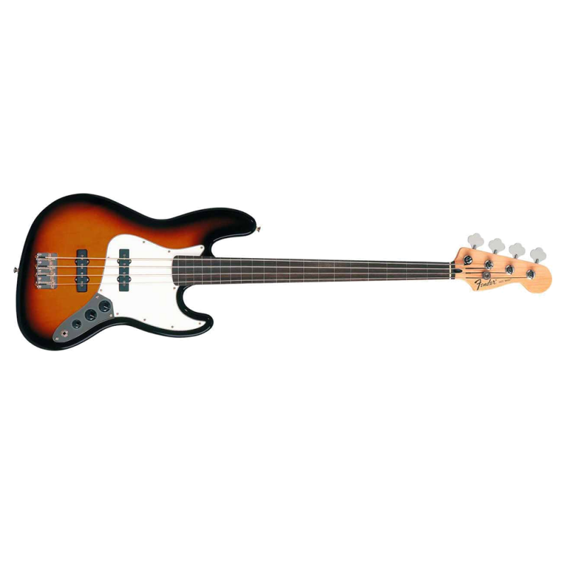 Fender Standard Jazz Bass� Fretless, Rosewood Fingerboard, Brown Sunburst