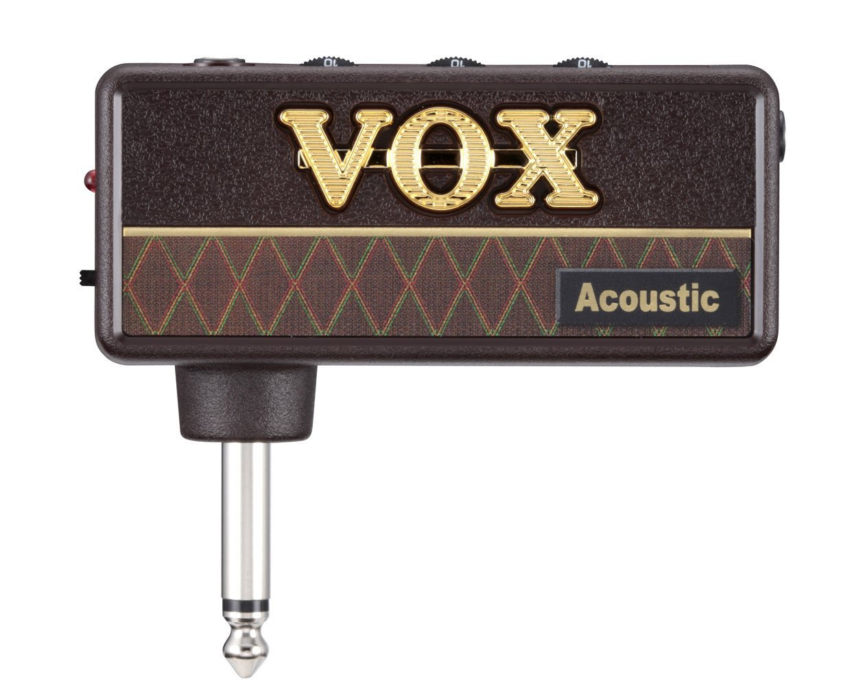 * View CAPETOWN Vox amPlug AP-AG Acoustic Headphone Amp with amplug powered cabinet speaker