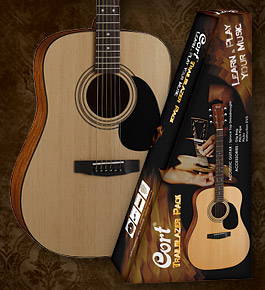 Cort Acoustic Guitar Pack
