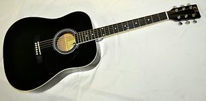 * (POPULAR ) GE120 full 41 in size FOLK GUITAR
