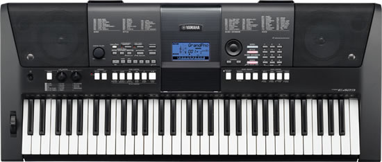 Yamaha 61 keys PSR E443  Advanced piano sound
