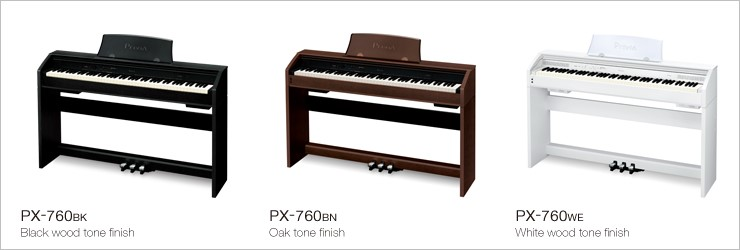 Privia PX760 digital piano