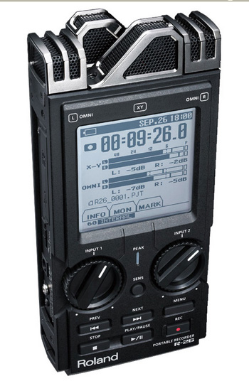 Roland R-26 WAVE/MP3 RECORDER