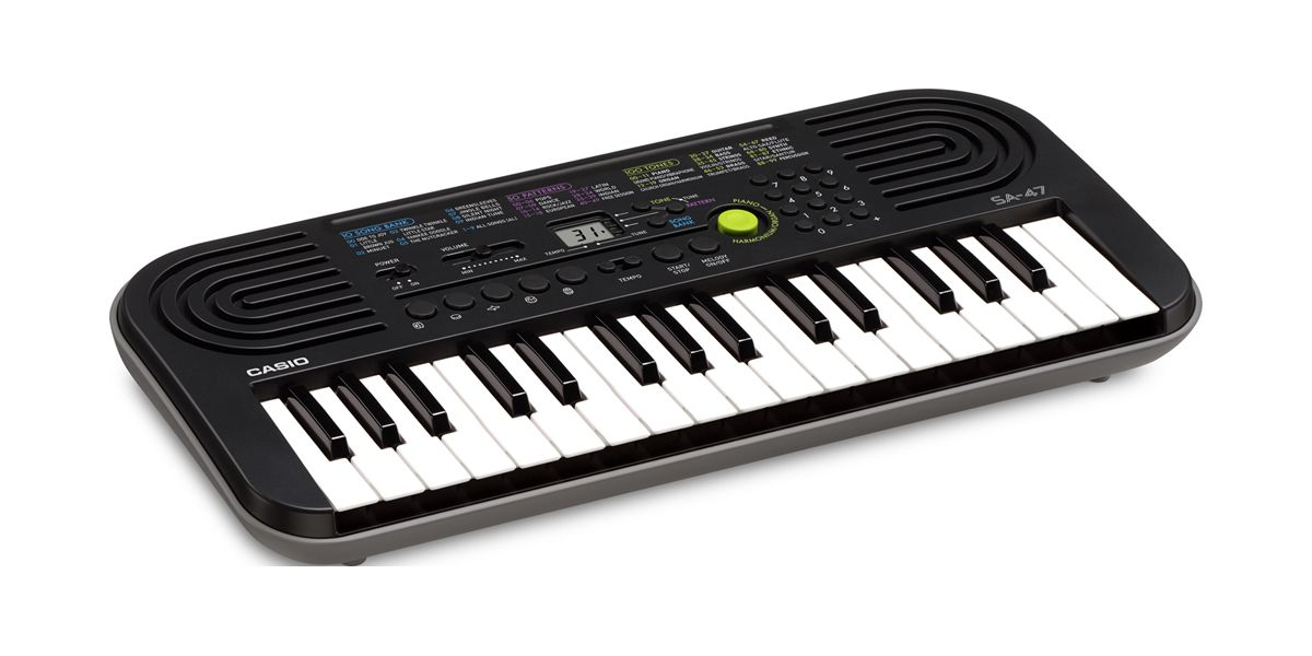 * Casio SA47 XMAS special (32 mini keys - for smaller kids) AVAILABLE