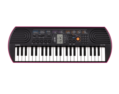 * View JOHANNESBURG Casio SA-78  mini 44 keys for 3-6 years old DEMO