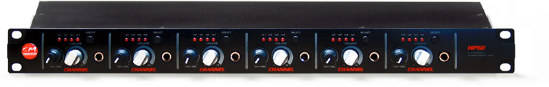 SMPRO 6 channel matrix headphone amplifier