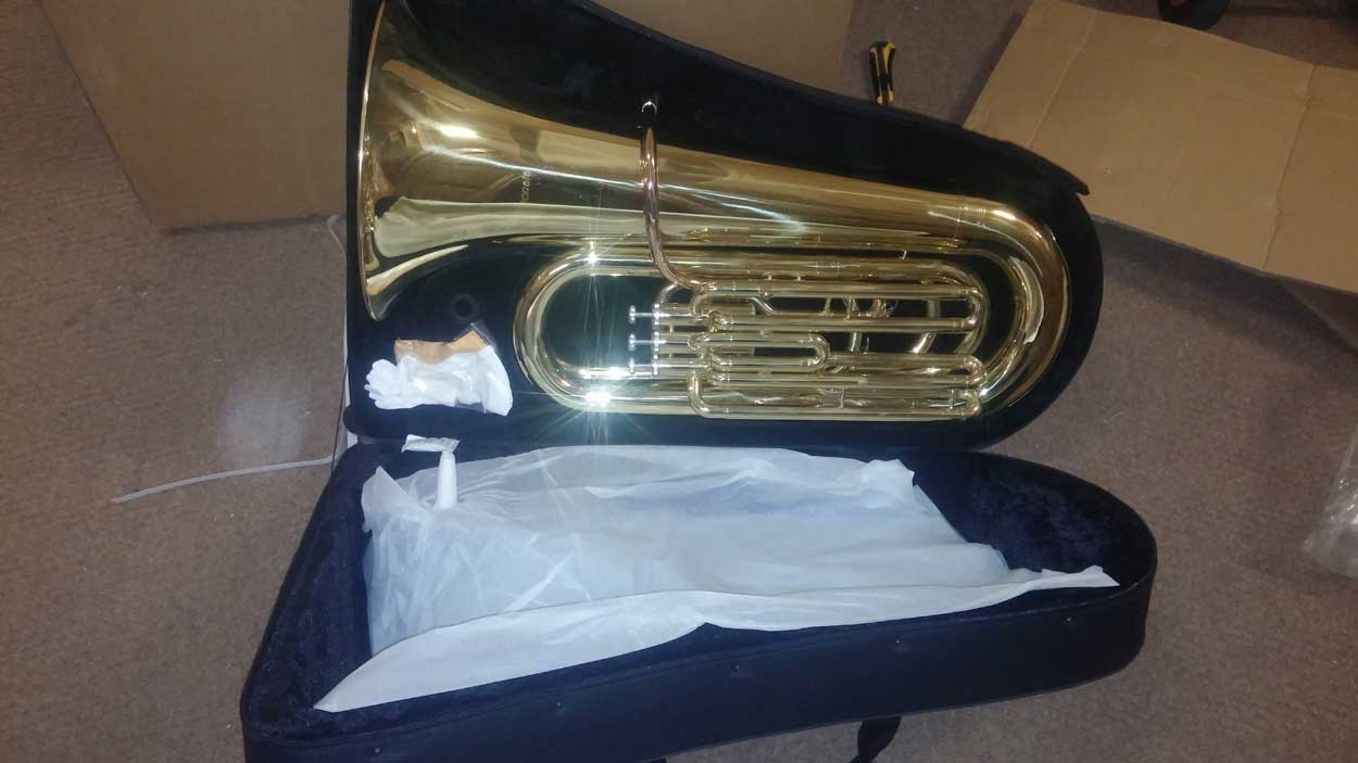 *  Jinyin 3 valve Bb Tuba AVAILABLE