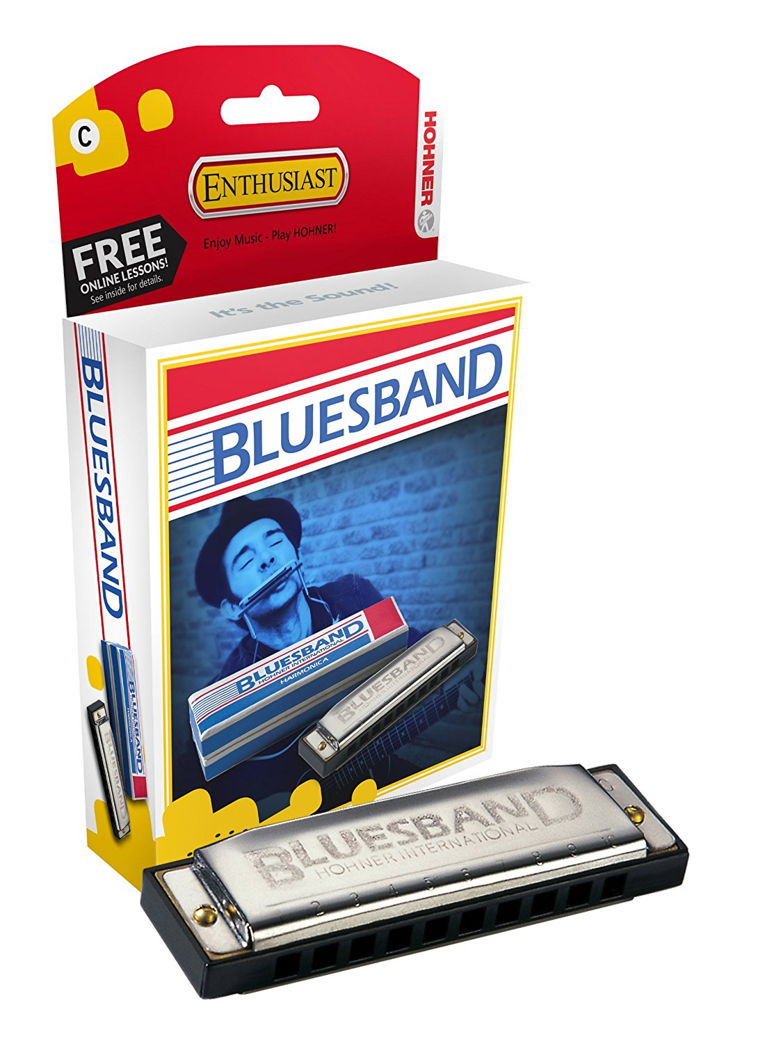 * BESTSELLER hohner Blues band in C