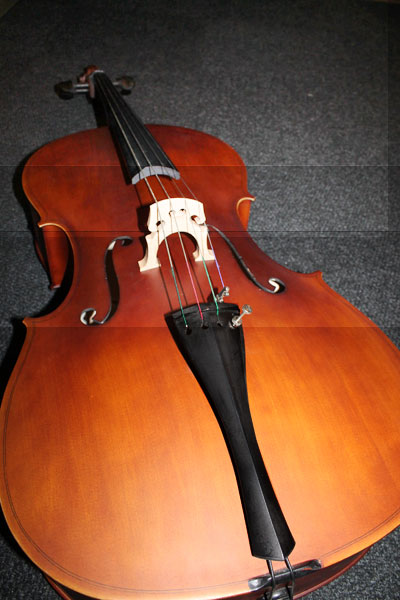 * SPECIAL  1 LEFT Prestige Cello maple scroll pear wood fingerboard includes bag, bow & rosin