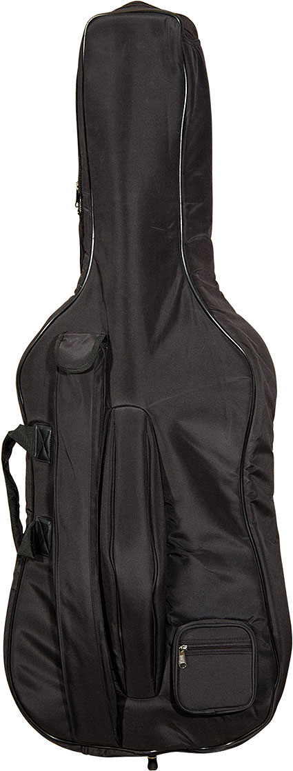 CELLO BAG Sizes 1/2 , 3/4 or 4/4 . with zip and slight padding