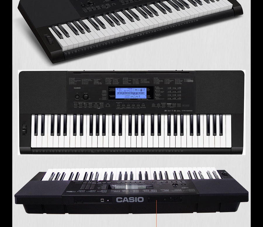* View JOHANNESBURG Casio demo ctk5200 61 keys keyboard