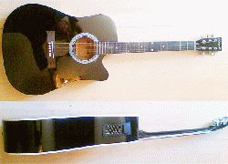 Acoustic Electric  Maxwell  (black ) with FREE BAG valued R250