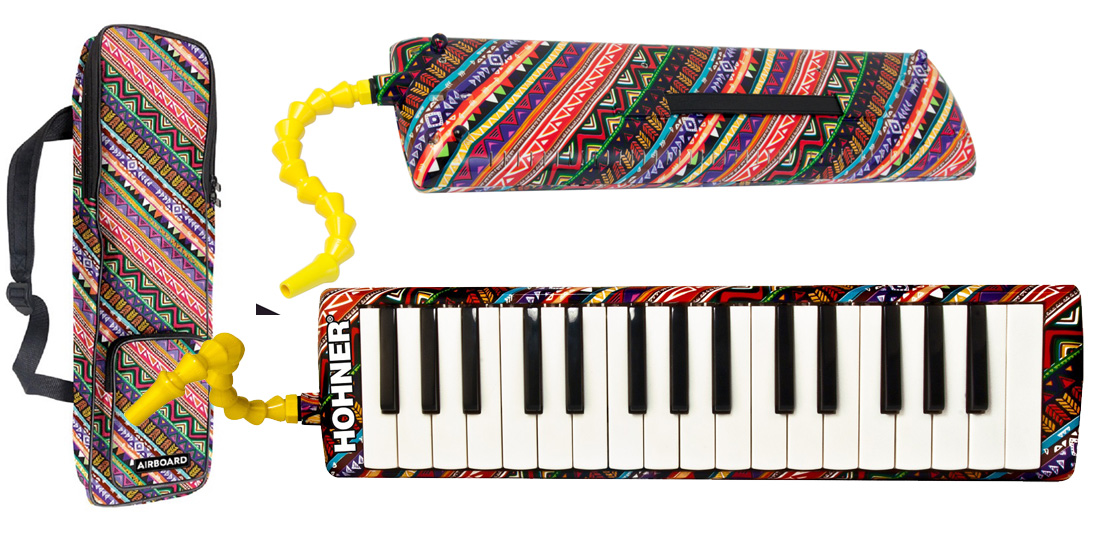 Hohner Professional Airborne 32 key Melodica Kit w bag