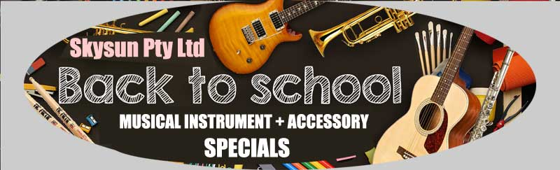 Back to School Musical Instrument and Accessory Specials