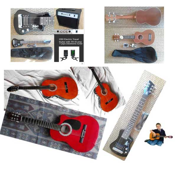 Guitars from R999, Ukuleles from R699, Childrens guitars, Banjos