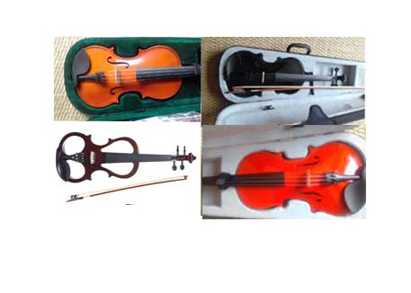Violins cellos and accessoroes  for all ages and skills