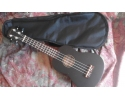 * * View CAPETOWN Black stained Ukulele  12 fret ukulele with bag