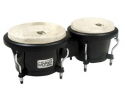 Toca Player's Fiberglass Bongo Set Black