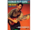 Ultimate Play-Along for Bass, Level 1, Volume 2 by John Patitucci - Book & CD