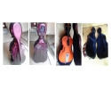 *Courante Cello Case- Fibreglass Purple