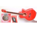 Washburn EA12 Festival series Solid Top Amber-red PACK with DVD BAG TUNER PLECTRUMS.