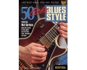 50 Licks Blues Style Guitar DVD