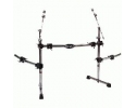 Gibraltar Road Series Curved Rack with Side Exten. & Boom Arms