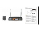 UHF11BL+HS  single channel  wireless  lapel/headset diversity microphone  pro quality ultra high frequency * View CAPETOWN