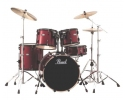 Pearl Vision VB825/B ROCK drum set +pearl HWP 920 Hardware pack +Wuhan c series cymbals