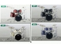 Pearl Vision VX825 5 piece laminate birch set w WUHAN hand hammered cymbals+HWP900 hardware pack VIDEO!