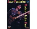Modern Electric Bass By Jaco Pastorius - Book & CD