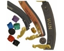 * *  Violin Accessories (shelter rests resin string cases etc).