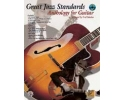 Great Jazz Standards Anthology for Guitar & CD