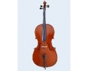 Student Advanced: Flame Lily Solid Top Back + Sides  Cello 1/2 size.