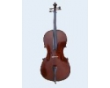 Flame Lily Solid Top Back + Sides Dark Gloss  Cello 34 size