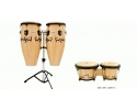Conga Set 10 in & 11 in with Stand - Wooden Toca Player series with hanging stand
