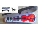 Courante violin outfit- RED SPARKLE LAQUER 1/4 size :AGES 9-11 with Shoulder Rest*View CAPETOWN