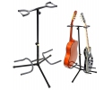 Double Guitar Stand,Black Finish