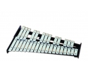 In Percussion glockenspiel 2 and 1/2 octave