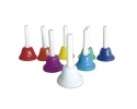 Set of 8 hand bells