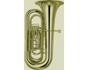 JYTU E180G Tuba in Bb 4 top valves gold laquer in Bb