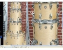 Ludwig USA Classic Natural Maple kit