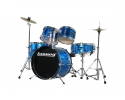 LUDWIG 5 piece complete  16inJunior Drumset+HW/Throne for ages 5 to 10 years VIDEO