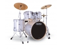Mapex voyager JAZZ FUSION or OR STANDARD - Crystal sparkle or  BLACK BURGUNDY SNOW WHITE ROYAL BLUE with ZILDJIAN cymbal and pro