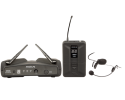 PROEL WM600H PROFESSIONAL UHF 4 CHANNEL HEADSET MIC SYSTEM - New!