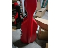 * Cello Case- Fibreglass Red