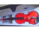 Courante violin outfit- RED SPARKLE LAQUER 3/4 size :AGES 9-11  including setup + 4 fine tuners *View CAPETOWN  UP*