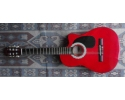 nylon classic supreme guitar Red laquer 38 inches
