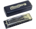 Hohner 504 Silver Star Harmonica in keys of C G, F , D,A, E or Bb