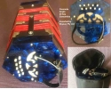 Courante Blue pearloid 20 key Anglo Concertina in bag  (video) UP*